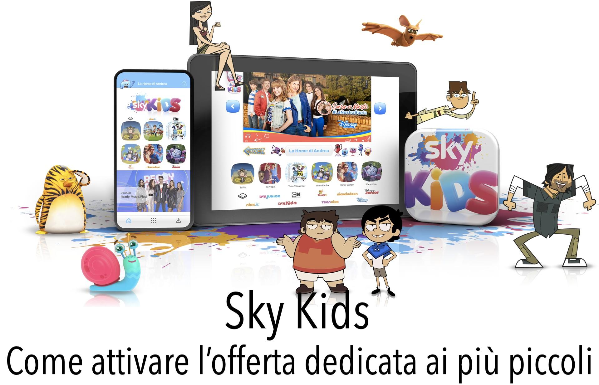 Sky Kids Promozione Attivazione Costi Offerta Abbonamento