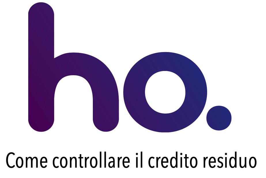 Come Controllare Credito Ho Mobile