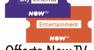 Now TV Ticket Cinema e Entertainment Attivazione Promozione Recensioni Opinione Prezzo