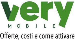 Attivazione SIM Very Mobile Promozioni Prezzo
